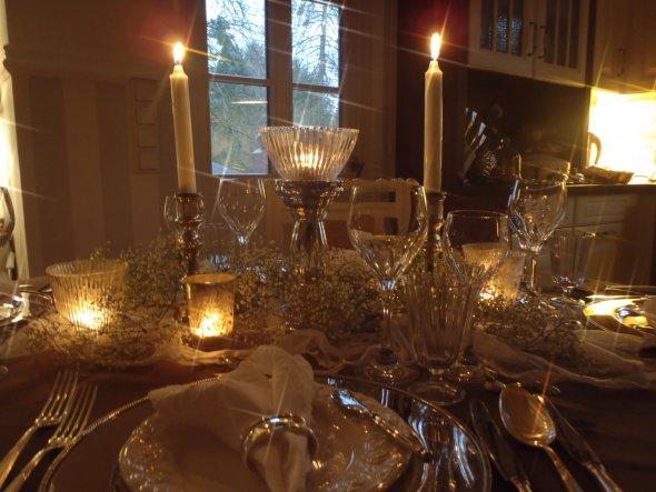 Wohnzimmer Tischdeko - Sweet Cottage - Zimmerschau