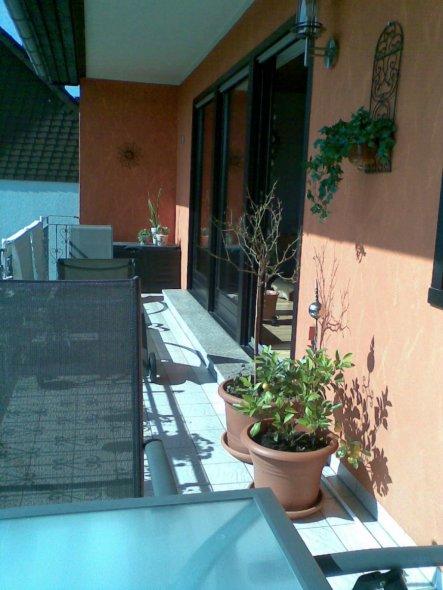 terrasse balkon 39 balkonien 39 home sweet home zimmerschau. Black Bedroom Furniture Sets. Home Design Ideas