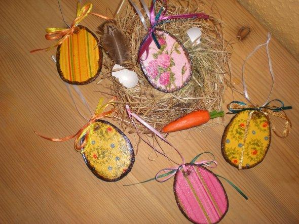 Deko zum Ostern.