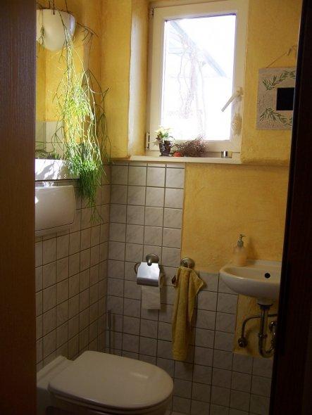leider nur eine ganz kleine Gästetoilette
