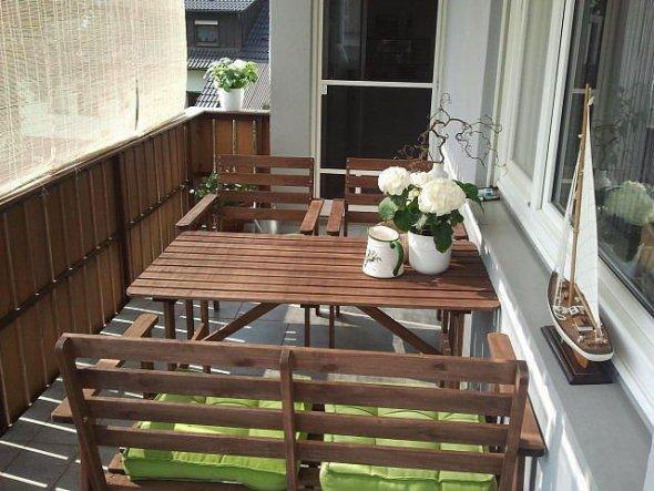 Terrasse / Balkon 'unser Riesenbalkon)))'