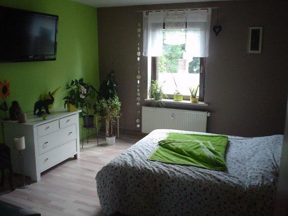 Schlafzimmer ideen braun grün  Schlafzimmer 'Schlafzimmer' - Unser Reich - Zimmerschau