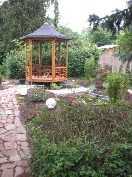 Garten 'Teehaus'