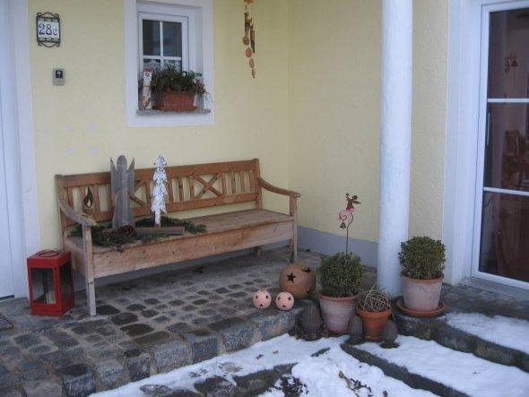 Hausfassade / Außenansichten 'Eingangsbereich'