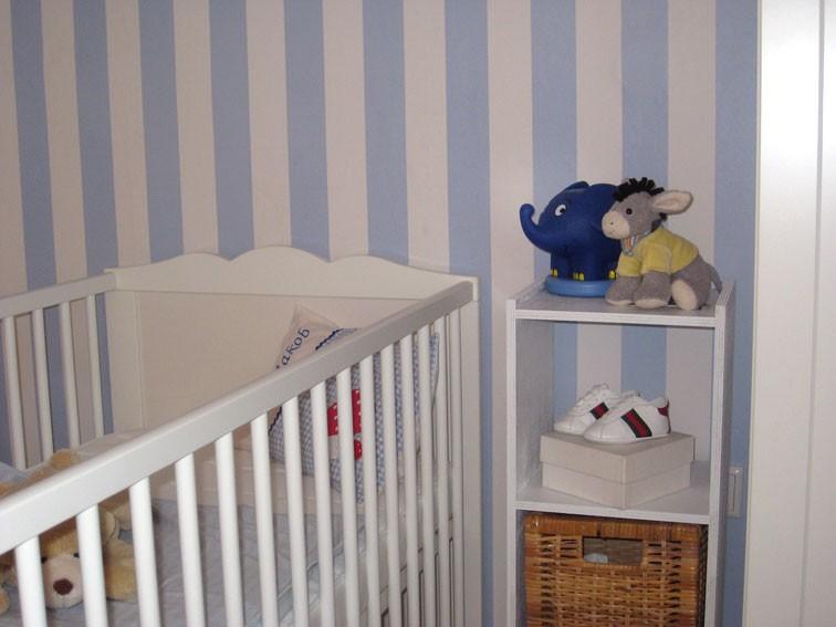 kinderzimmer 'baby-zimmer' - mein domizil - zimmerschau - Kinderzimmer Blau Weis