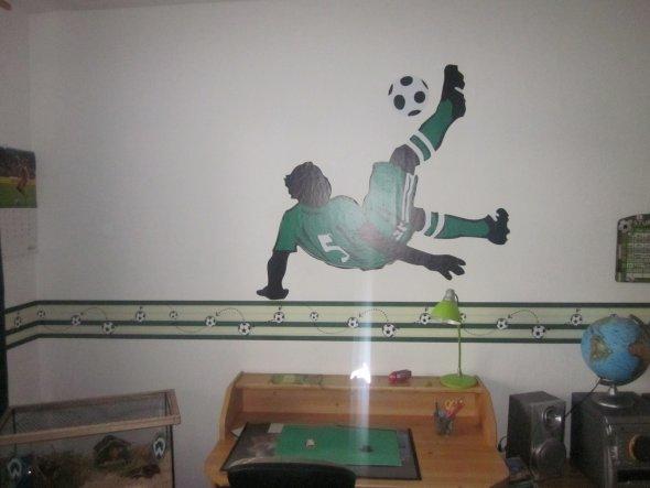 Kinderzimmer 'Fußballzimmer'
