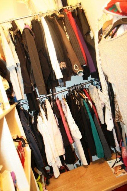 Wohnzimmer 'Kleiderschrank'