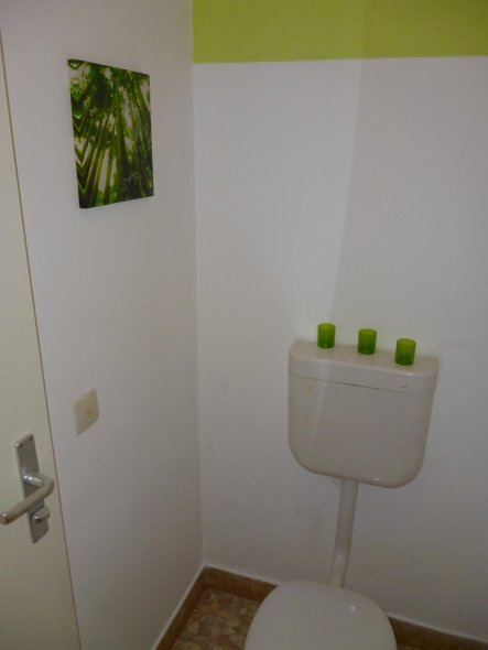 Gäste Wc Deko bad gäste wc unser gemütliches heim zimmerschau