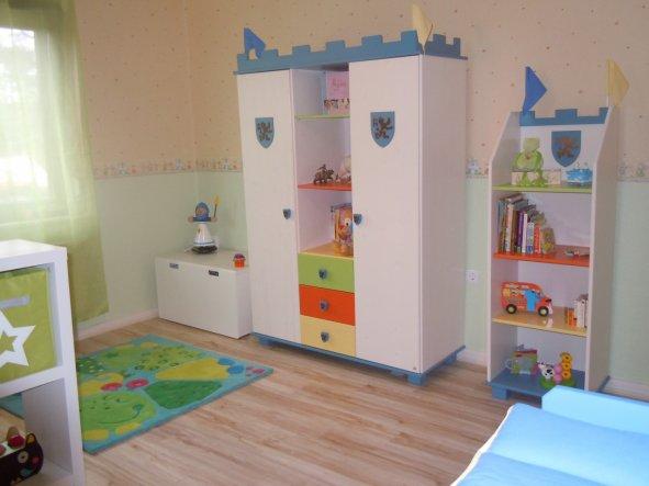 Kinderzimmer Gardine Ritter  Bibkunstschuur