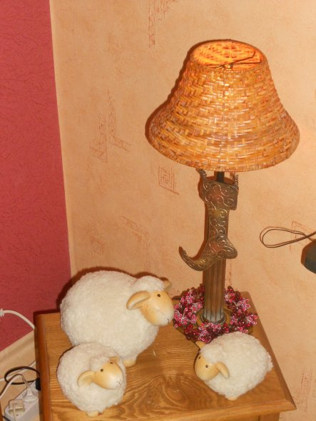 Eine nette Deko in meinem mediteranem Wohnzimmer zu Ostern 2012....