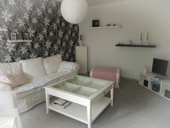 Wohnzimmer 'Unsere Kuschelecke'
