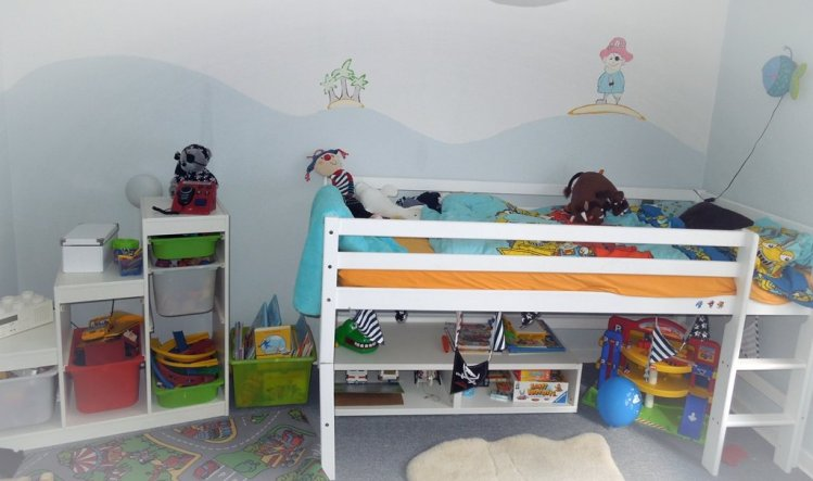 Kinderzimmer 'Piratenhöhle'