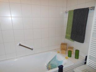Badezimmer, Dusche und WC