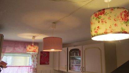 Kleine rosa  Küche