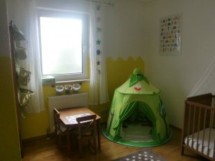 Kinderzimmer verändert