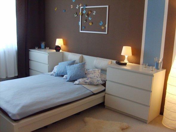 Schlafzimmer braun beige weiße möbel  Schlafzimmer 'Unser Schlafzimmer' - Unsere Wohnung - Zimmerschau
