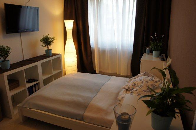 Schlafzimmer Blau Beige: Schlafzimmer inspiration fuer schicke ...