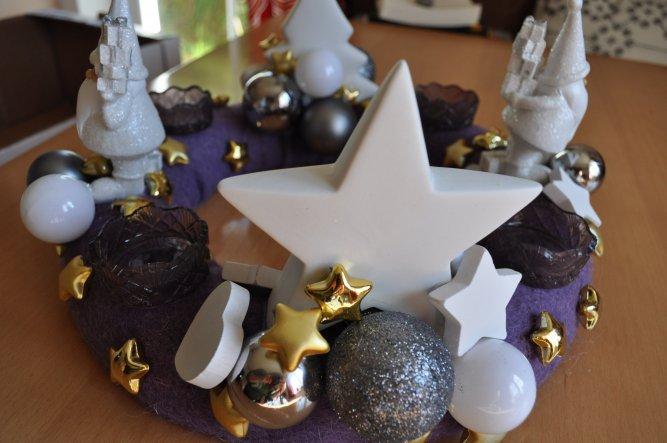 Weihnachtsdeko 'Irgendwann kommt Weihnachten...'