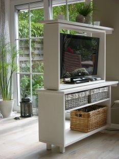 Tipp & Trick 'Drehbarer Fernsehschrankraumteiler'