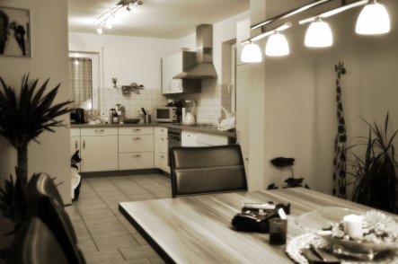 küche 'küche' - das haus der hausi ´s - zimmerschau, Moderne deko
