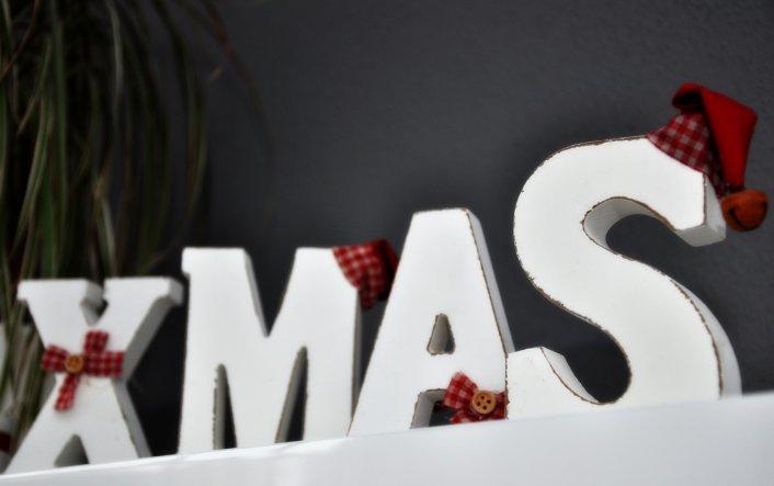Weihnachtsdeko 'Weihnachten' - Das Haus der Hausi ´s - Zimmerschau