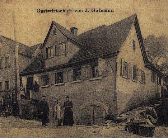 Hausfassade / Außenansichten 'Alte Gastwirtschaft'