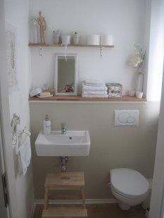 bad 39 g ste wc 39 einfach zuhause einfachzuhause zimmerschau. Black Bedroom Furniture Sets. Home Design Ideas