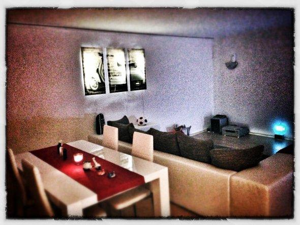 wohnzimmer 39 wohn essbereich 39 meine erste wohnung zimmerschau. Black Bedroom Furniture Sets. Home Design Ideas