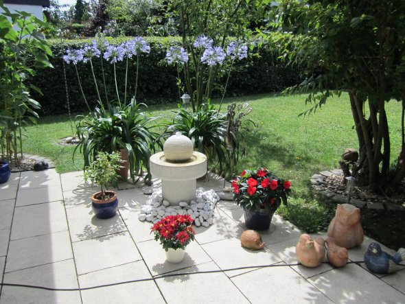 Garten 'grüne Oase'