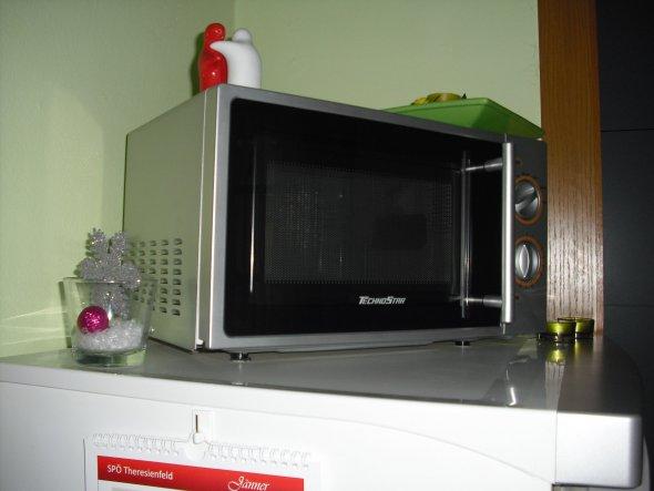 ein bißchen Weihnachtsdeko findet man auch in meiner kleinen Küche