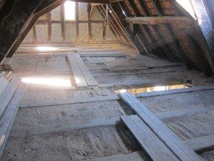 Shabby 'Fachwerkgebäude 2.Stock / Giebelzimmer'