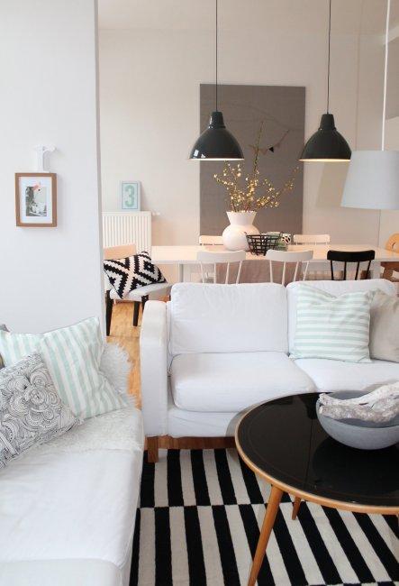 Wohnzimmer Deko Pastell: Gr?ne pastell im wohnzimmer mit shabby chic ...