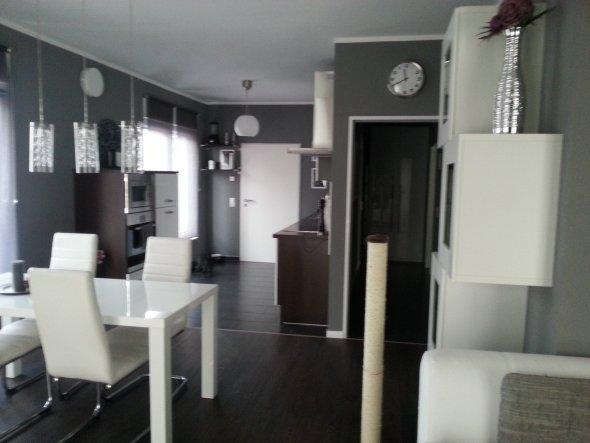 Blick in die offene Küche :-)