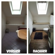 Neues WC
