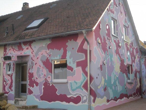 Hausfassade / Außenansichten 'Colorfool'