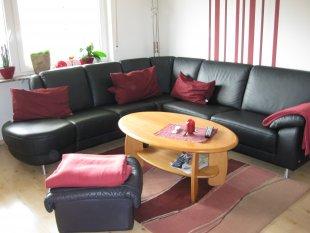 wohnzimmer 39 essecke 39 unser neues haus zimmerschau. Black Bedroom Furniture Sets. Home Design Ideas