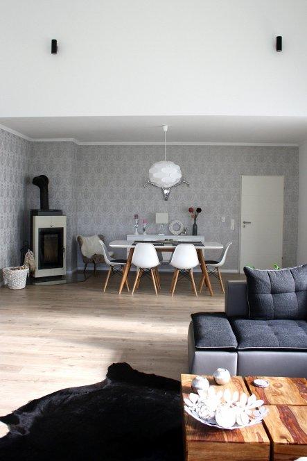 Wohnzimmer 'Unser lang ersehntes Wohnzimmer - endlich fertig!'