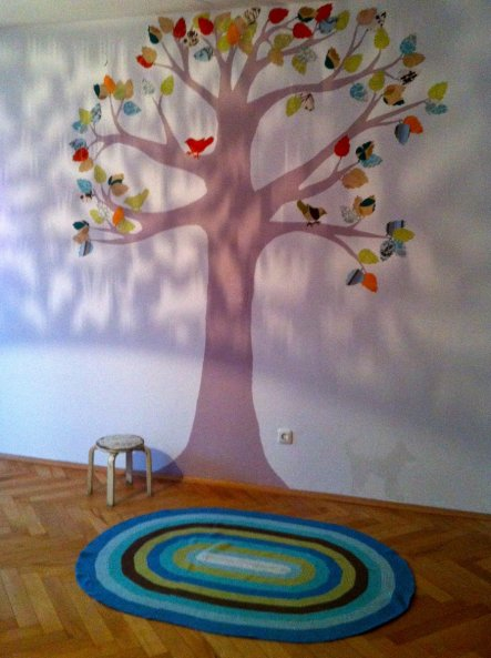 Kinderzimmer 'Tapetenbaum'