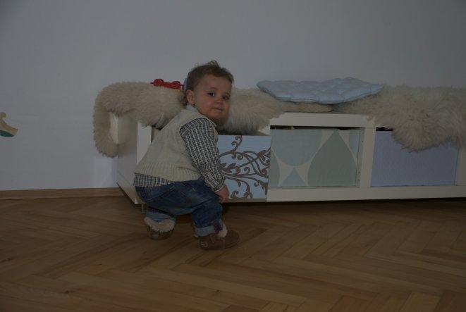 Ein altes Ikea Regal stand kurz vor dem Rauswurf... noch einmal nachgedacht  und ich habe bei einem befreundeten Schreiner 4 passende Holzkisten in Au