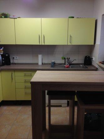 Küche 'Grün - Küche' - Neue Wohnung - schön Bunt - Zimmerschau