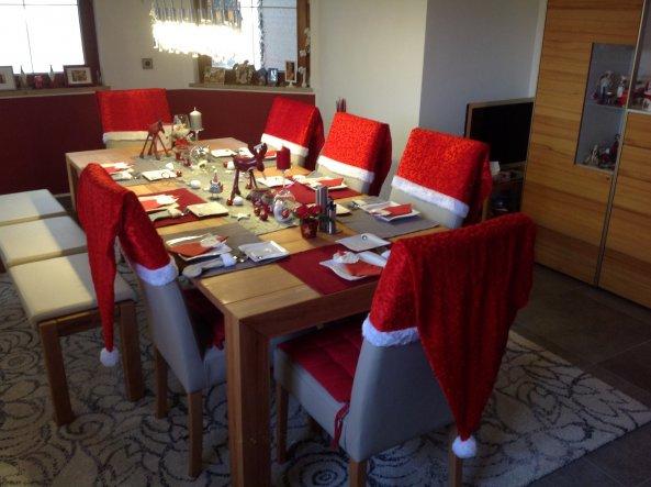 Deko 39 2014 weihnachtsdeko 39 unser geschenktes eigentum danke omii zimmerschau - Deko fur weihnachtstisch ...