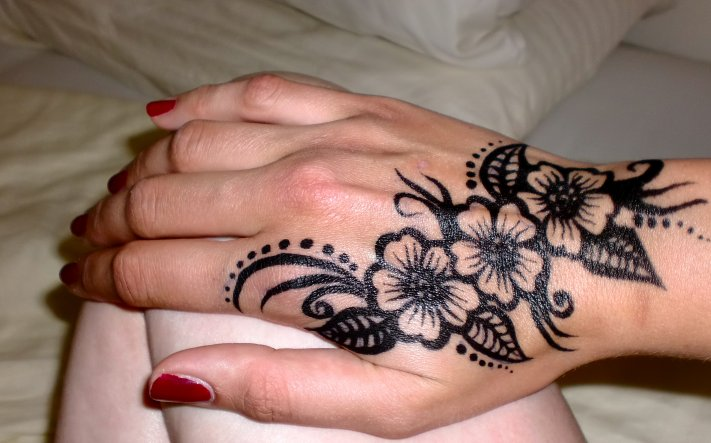 Mein 1. Henna Tattoo :)