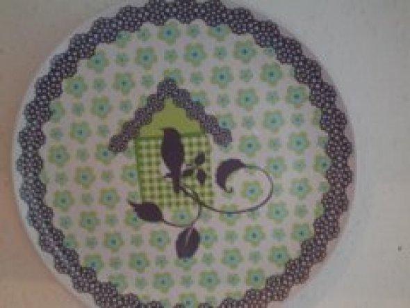 Wandteller---ich finde ihn süß  :-)
