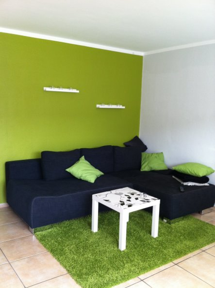 Wohnzimmer einrichten grau grün  Beautiful Wohnzimmer Grun Schwarz Photos - Home Design Ideas ...