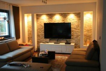 wohnideen wohnzimmer arbeitszimmer moderne inspiration