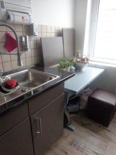 küche 'meine schmale küche' - mein domizil - zimmerschau - Schmale Tische Für Küche