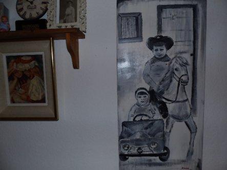 Wohnzimmer 'Mein Vintage Wohnzimmer'