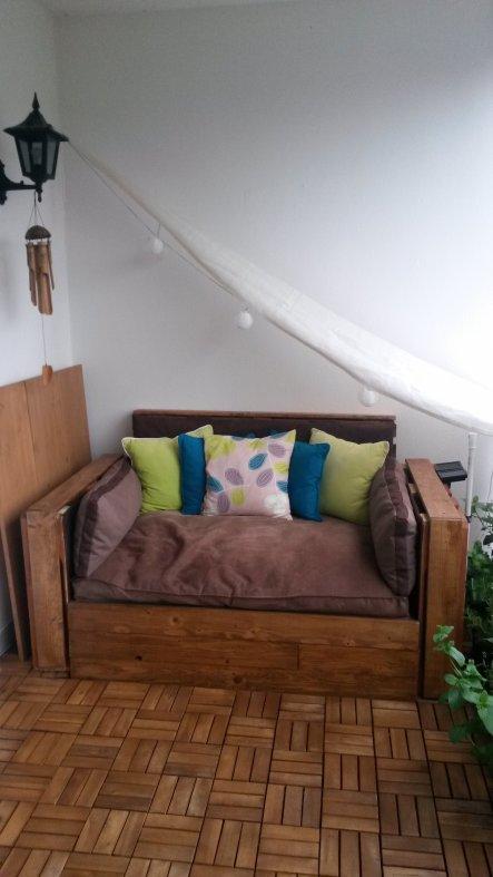 Kleine Überarbeitung der Lounge...