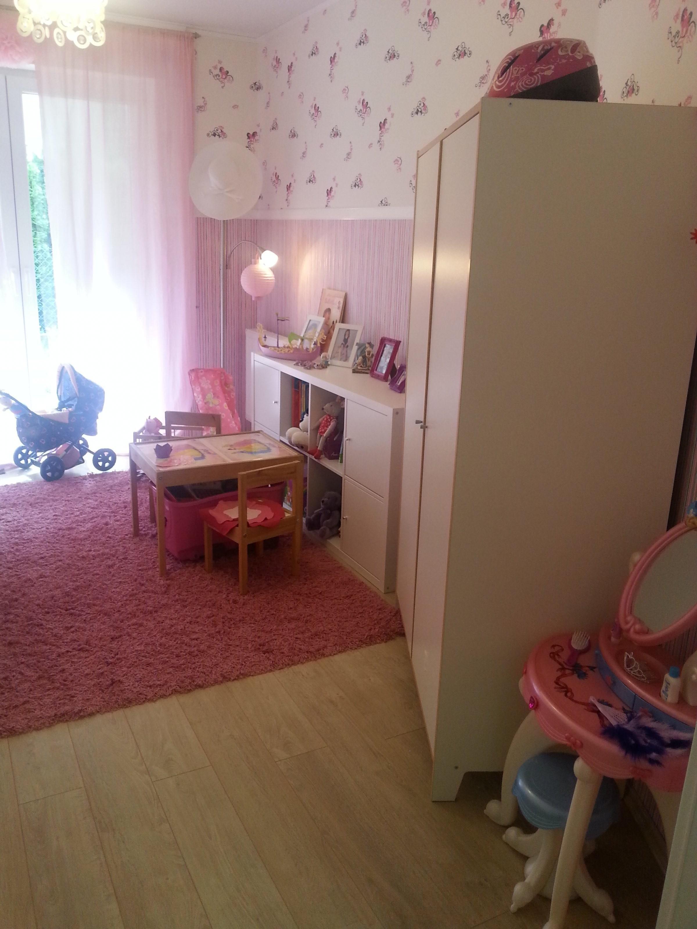 kinderzimmer 39 kinderschlafzimmer f r vierj hrige m dchen 39 mein domizil zimmerschau. Black Bedroom Furniture Sets. Home Design Ideas