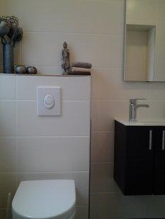 Klassisch 'Gäste-WC mit Dusche'